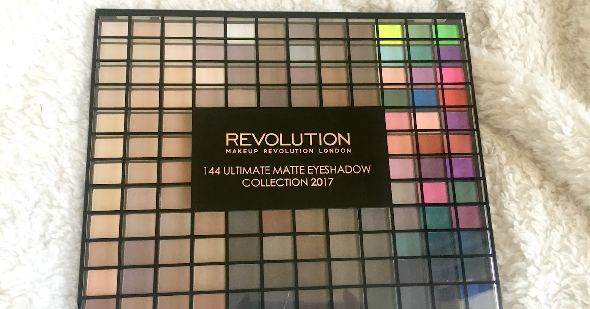 Makeup Revolution 144 Ultimate Matte Eyeshadow Palette | The Auras of Life