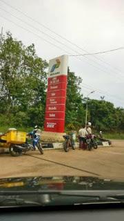 SPBU Simpang Tais PALI Tidak Lagi Jual Premium