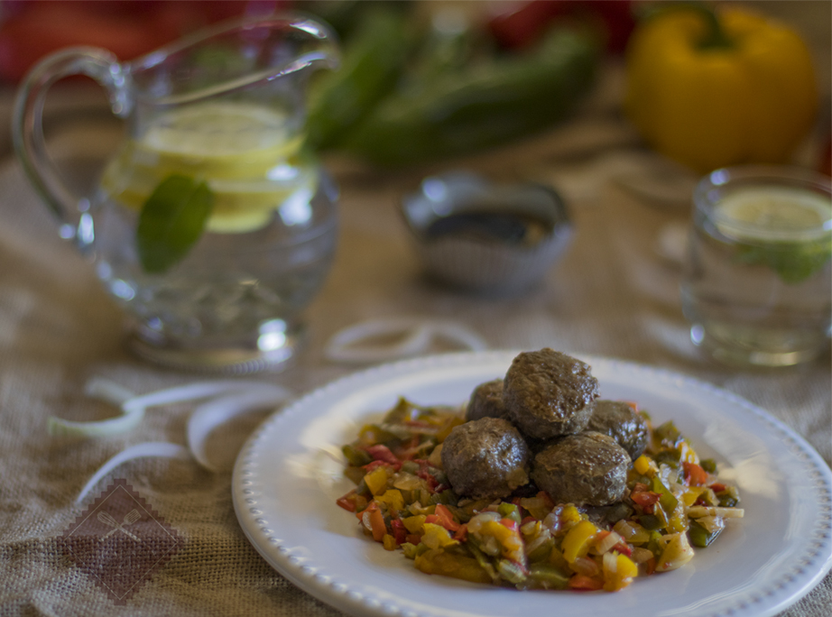 albondigas de ternera al horno light