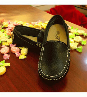Manmade Loafer Shoes - Black