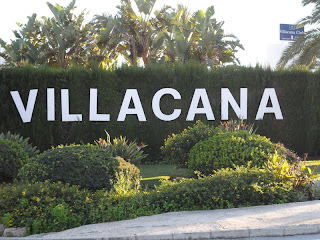 Sign outside Villacana Club