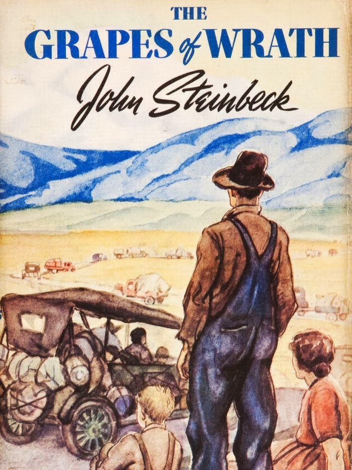What does this phrase mean from Steinbeck's The Grapes of Wrath...?