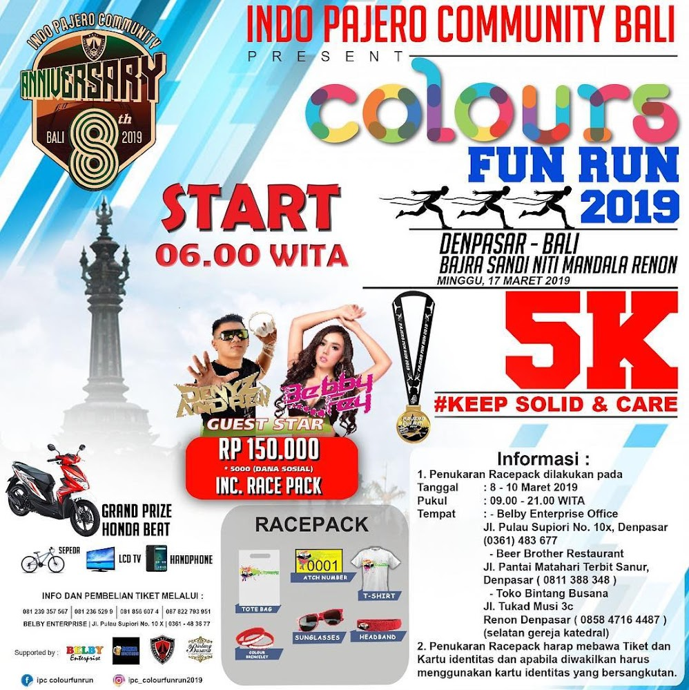 IPC Colour Fun Run • 2019