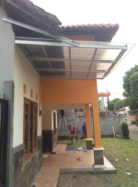 canopy baja ringan tanpa tiang terbaru 22+ model kanopi