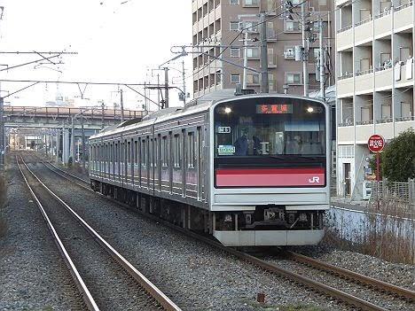 仙石線 普通 多賀城行き 205系3100番台(10本/日運行)