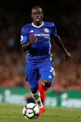 Chelsea manager Antonio Conte says N'Golo Kante has been given all clear