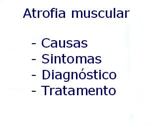 Atrofia muscular causas sintomas diagnóstico tratamento prevenção riscos complicações