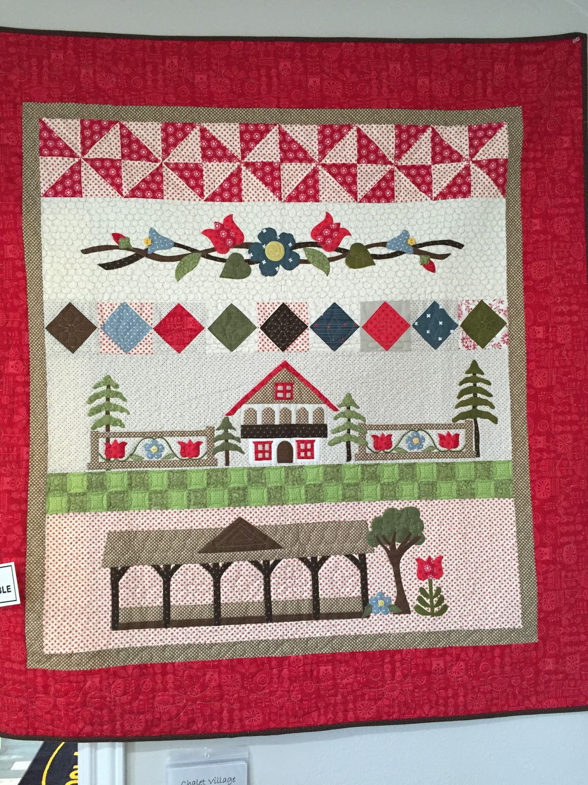 Sew Fun 2 Quilt Row By Row Home Sweet Home