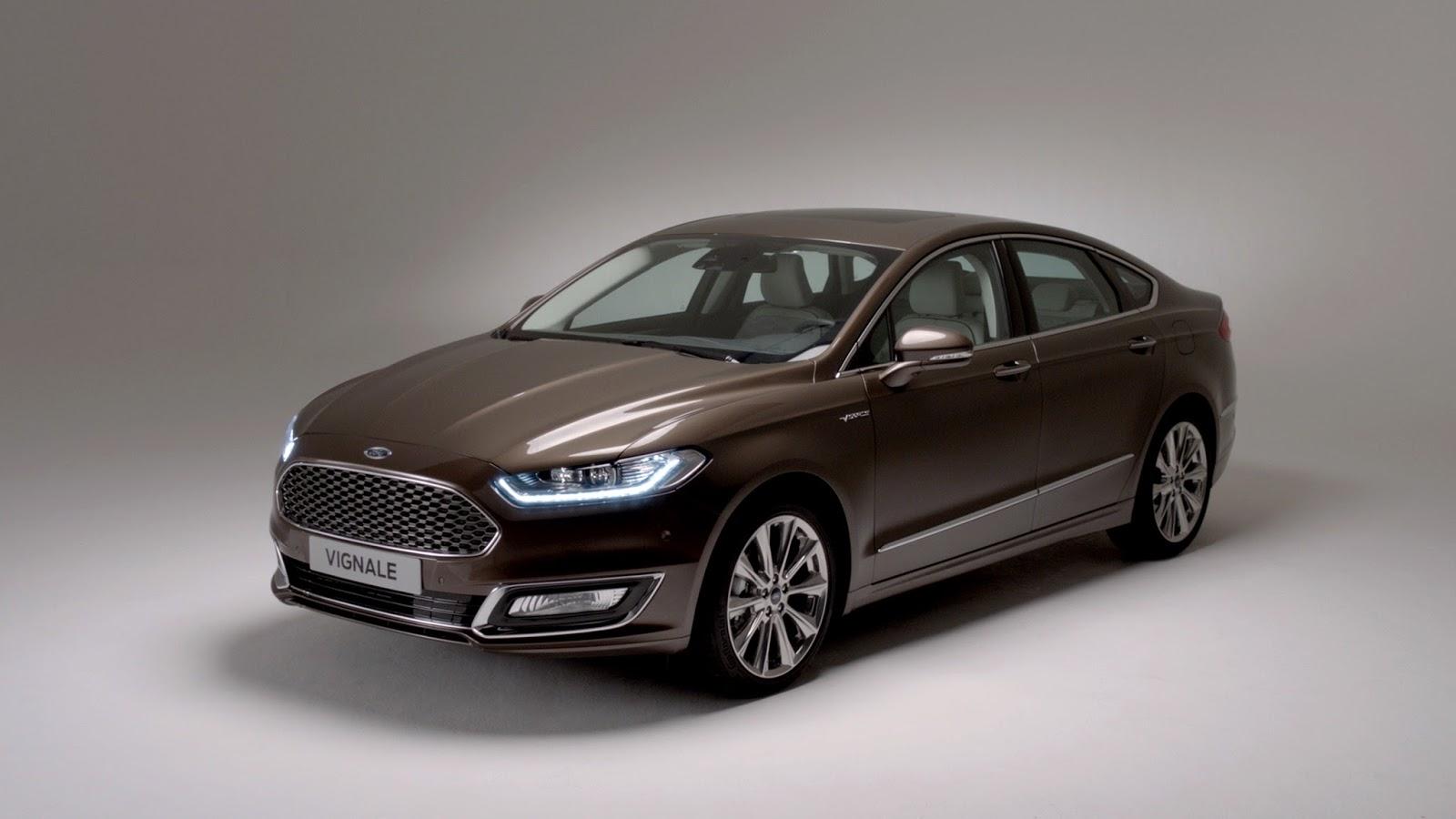 FordVignale Mondeo 4door 01 Δες το τετρακίνητο Ford Focus RS και την νέα Mustang παρέα με όλα τα Ford στην έκθεση αυτοκινήτου 2015
