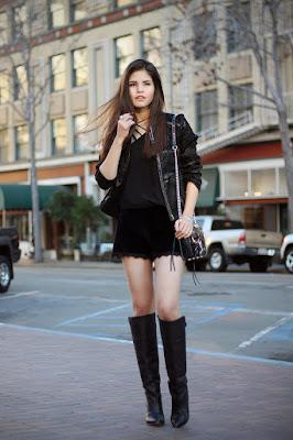 botas negras de moda