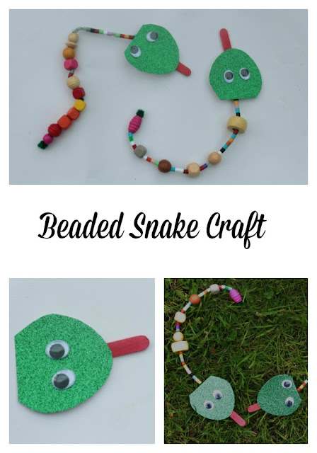 beaded snake tutorial