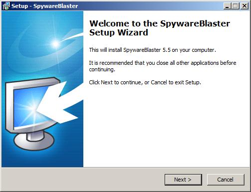 تحميل وتثبيت برنامج SpywareBlaster لحماية المتصفحات والكمبيوتر