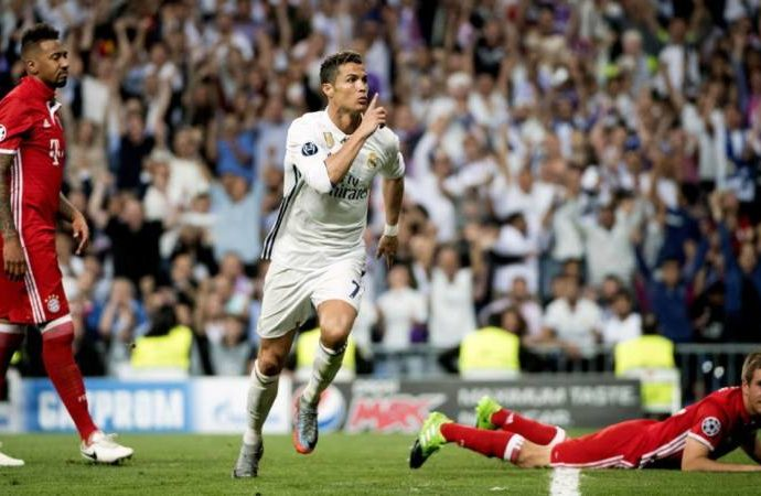 Ronaldo leads Real Madrid past Bayern Munich in extra time