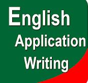 एप्लीकेशन लिखने का तरीका in English
