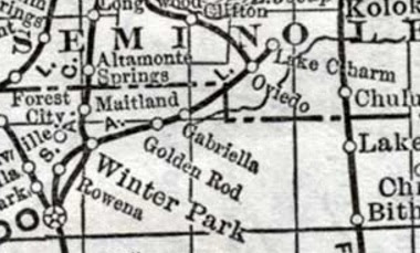 CENTRAL FLORIDA'S PROUD HISTORY: The ORLANDO & WINTER PARK ... on golden potty, golden shuttle, golden helicopter, golden windmill, golden ambulance, golden railroad, golden mall, golden sky,