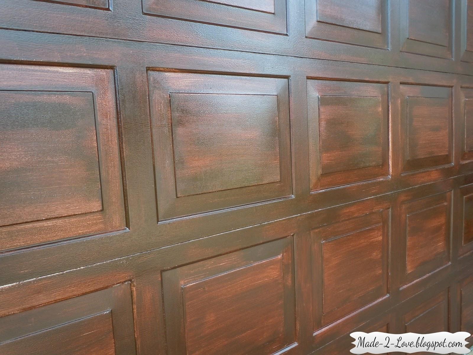 Made To Love Diy Faux Wooden Garage Door