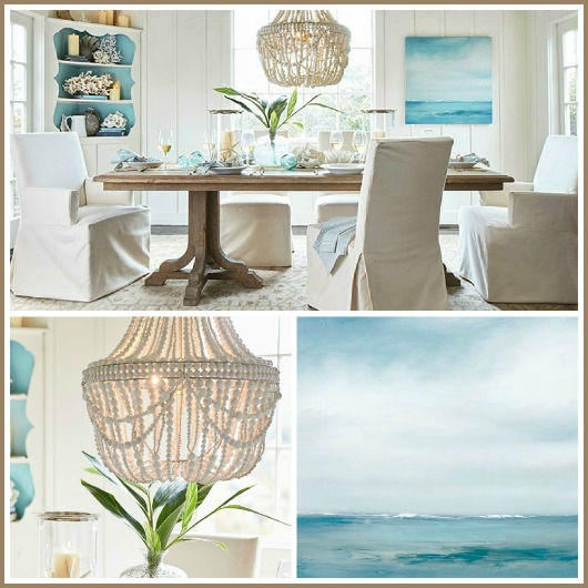 Coastal Calm Table Amp Dining Room By Pottery Barn Shop
