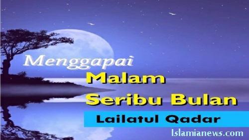 Teks Contoh Khutbah Jum'at Makna Lailatul Qadar Singkat terbaru 2020