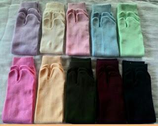 Koleksi Kaos Kaki Muslimah Jempol Polos Kuala lumpur