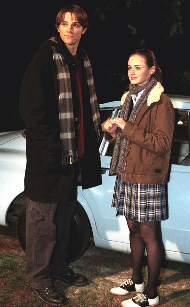 Jared Padalecki e Alexis Bledel, em cena de  Gilmore Girls  - Divulgação 6ec7c125a9