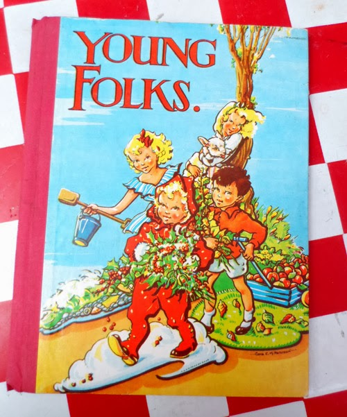 young folks vintage annual