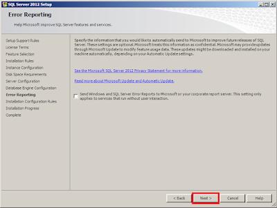 Cara Install SQL Server 2012 Express with tools