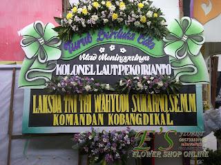 Papan Bunga Ucapan Turut Berdka Cita Surabaya