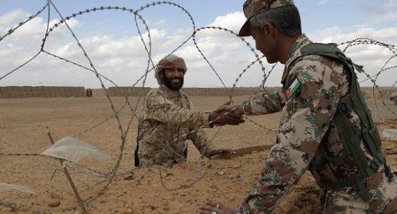 رصد محاولة تسلل 6 مهربين من الحدود الاردنية ,والاردن يعلن مقتل 4 مهربين.