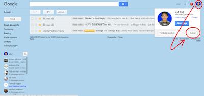 """""""Cara Log Out akun Gmail"""""""