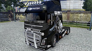 Call of Duty Ghosts skin mod for Volvo 2012