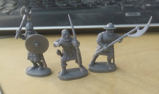 Fireforge Games: New Plastic Medieval Scandinavian Infantry - Assembled Miniatures