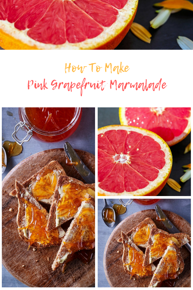 How To Make Pink Grapefruit Marmalade