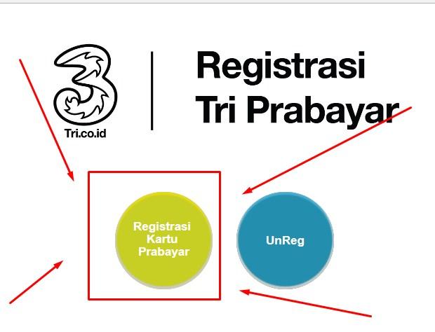 Registrasi Kartu Tri Via Website Resmi Terbaru 2019