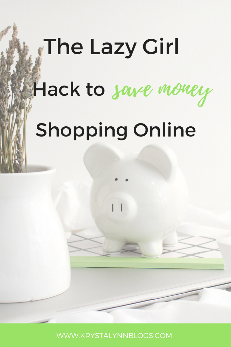 When I do my online shopping I always use Honey. Honey is the EASIEST way to save money when shopping online – seriously.