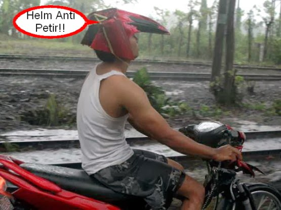 Unique Helmets In Indonesia