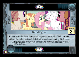 My Little Pony Blending In Equestrian Odysseys CCG Card