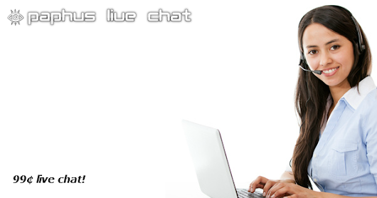 Announcing Paphus Live Chat - commercial live chat, chat bot, chatroom, and forum hosting