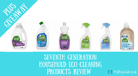 Seventh Generation Household Eco Cleaning Products (AD)