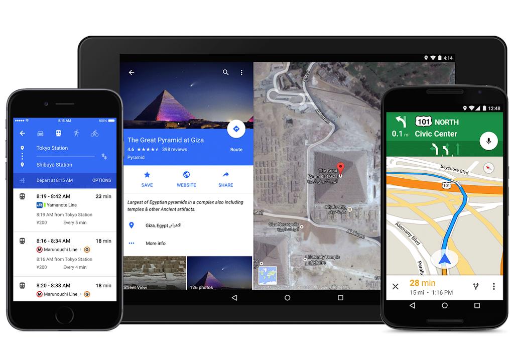 Google Map改版,整合Uber叫車服務 數位時代