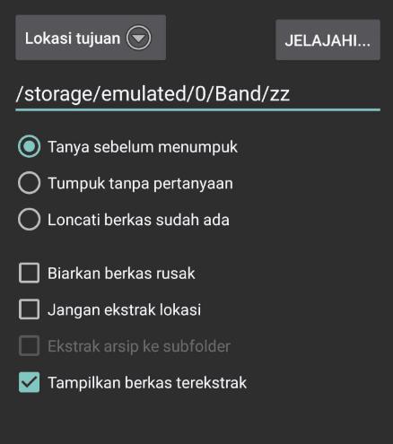 3 Tutorial Ekstrak File RAR Di Android (Gampang Dan 10+0% Work) 26