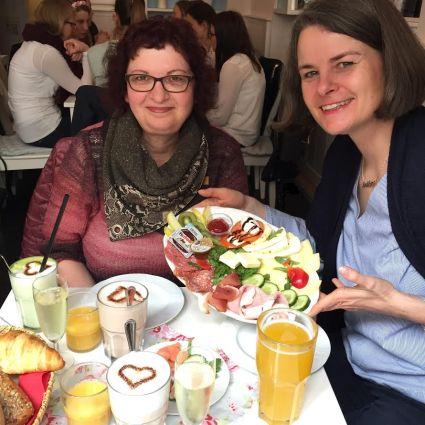 Bloggertreffen mit Ela und Ursula in München Café Lotti