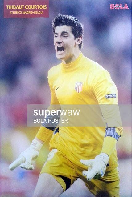 Thibaut Courtois Atletico Madrid 2012