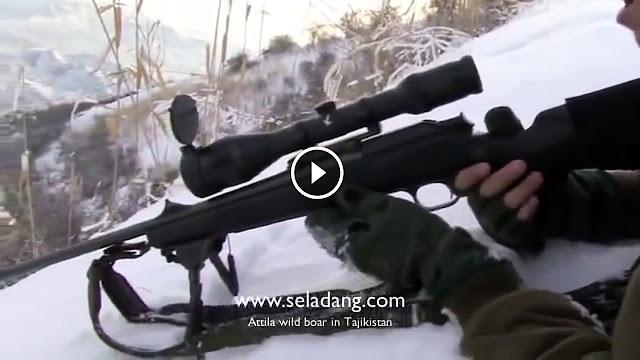 La chasse aux sangliers à Tajakistan ( chasseurs français)