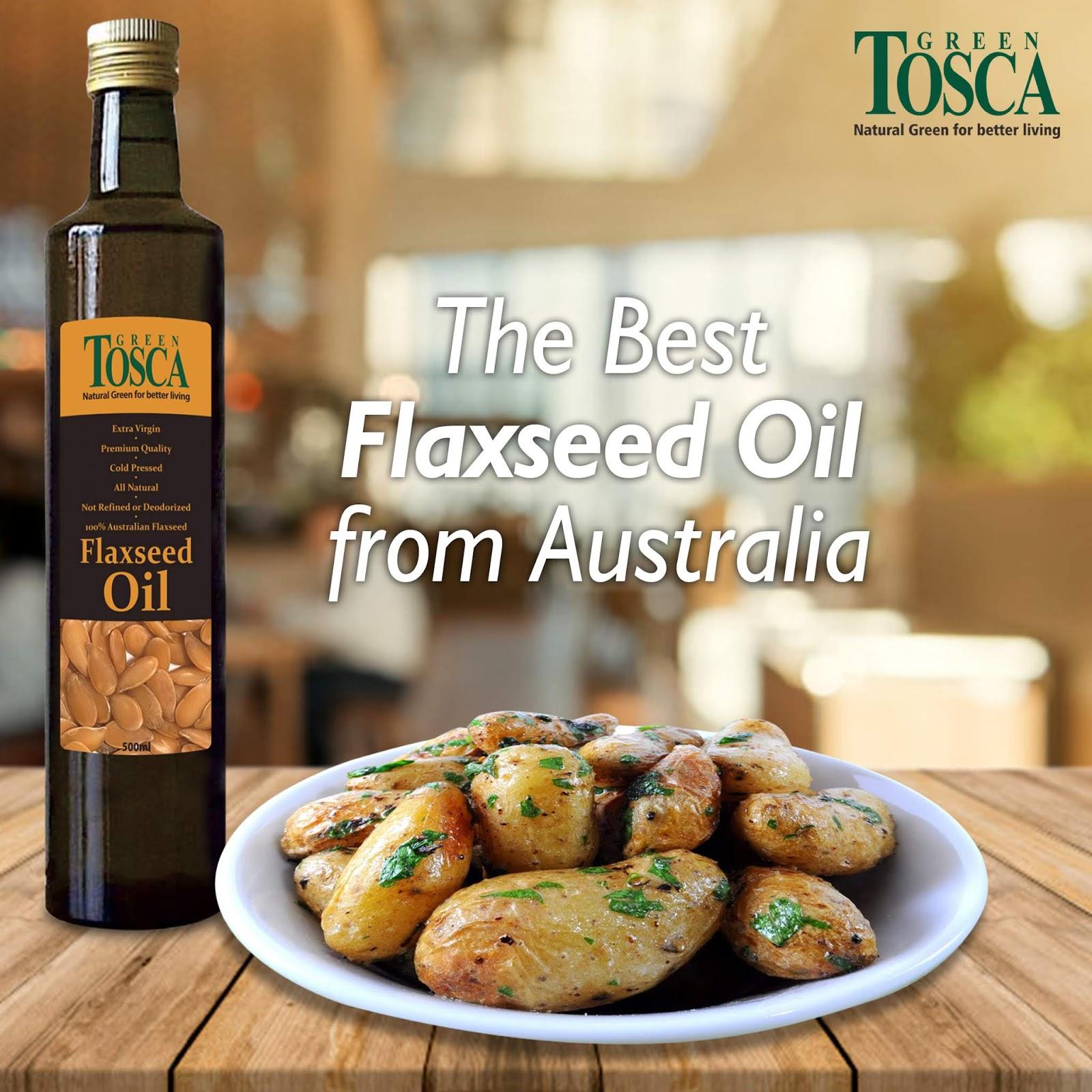 Flaxseed Oil Minyak Biji Rami Minyak Masak Paling Sehat