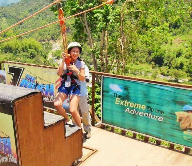 After-doing-a-zipline