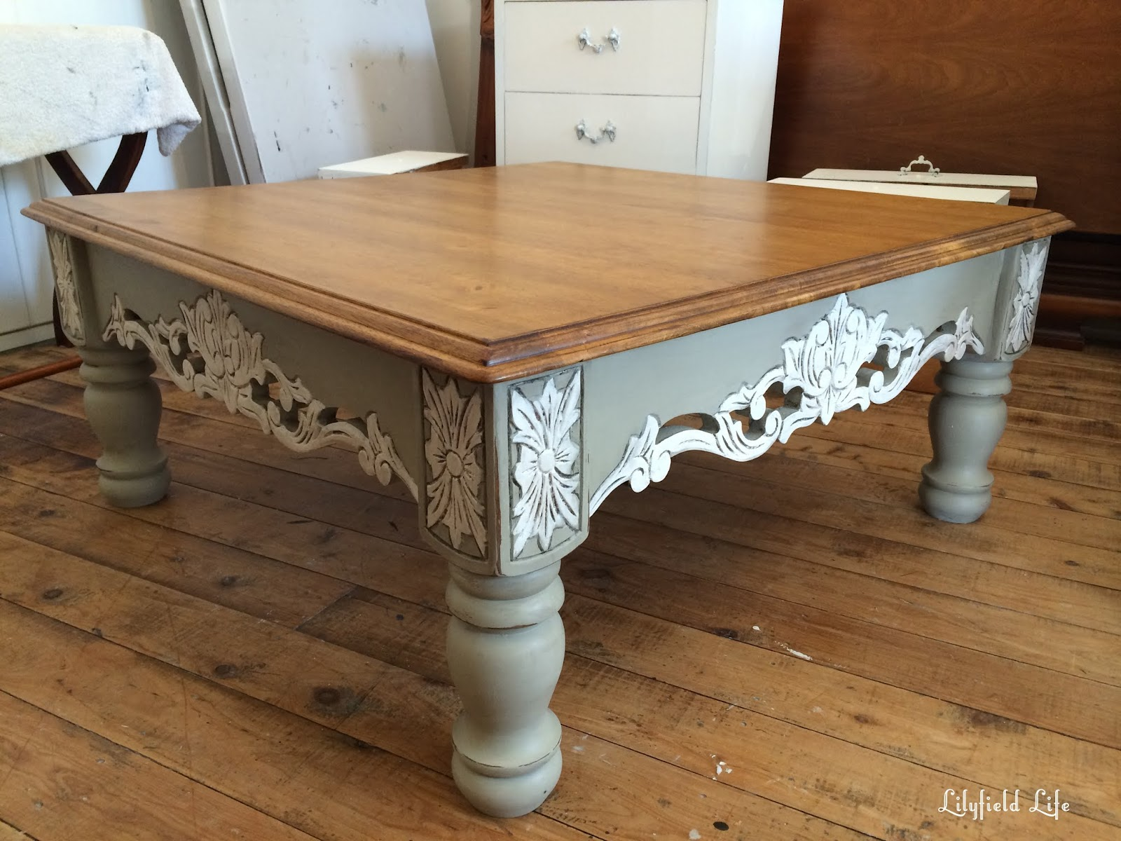 Lilyfield Life: 3 ways to paint a coffee table