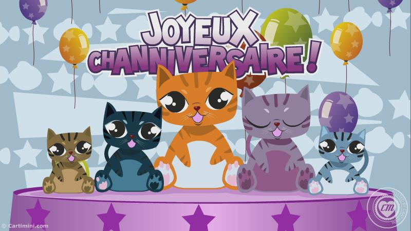 carte virtuelle gratuite chat