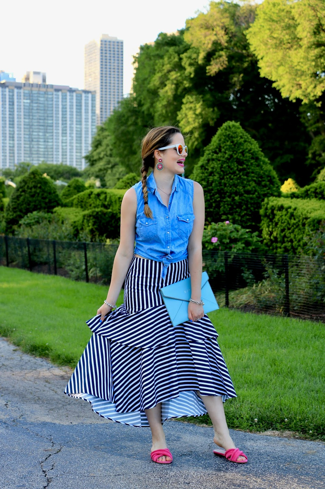 Nyc fashion blogger Kathleen Harper's summer outfit ideas