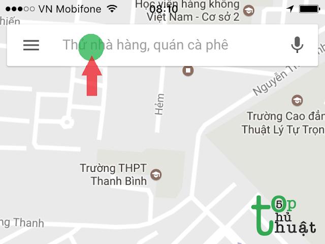 Cài đặt ứng dụng Google Maps cho iphone