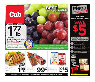 ⭐ Cub Foods Ad 8/21/19 or 8/22/19 ✅ Cub Foods Weekly Ad August 21 2019